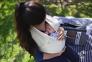 Baby K'tan ORGANIC Baby Wrap Carrier Extra Large, , rollover