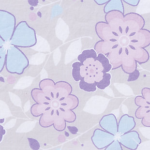 Trend Lab Grace Ditsy Floral Fitted Crib Sheet, , large