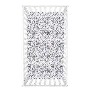 Trend Lab Galaxy Fitted Crib Sheet, , rollover