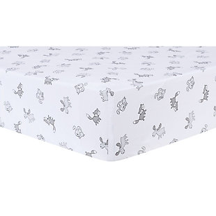 Trend Lab Aztec Forest Fitted Crib Sheet, , rollover