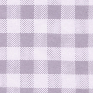 Trend Lab Gray Buffalo Check Deluxe Flannel Fitted Crib Sheet, , large