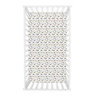 Trend Lab Forest Nap Deluxe Flannel Fitted Crib Sheet, , rollover