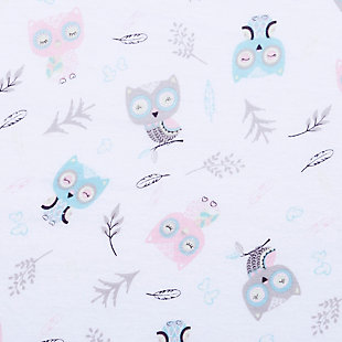Trend Lab Feathered Friends Jersey Fitted Crib Sheet, , large