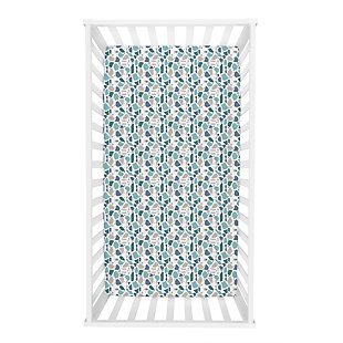 Trend Lab Terrazzo Forest Jersey Fitted Crib Sheet, , rollover