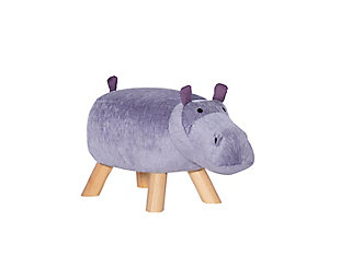 Powell  Hadley Hippo Kids Stool, , large