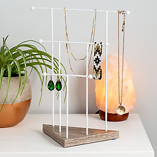 Honey Can Do 13-Inch 3-Tier Jewelry Stand, , rollover