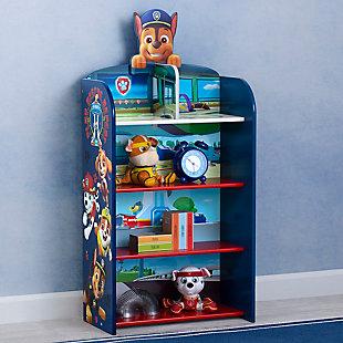 Delta Children Paw Patrol Wooden Playhouse 4-shelf Bookcase For Kids, , rollover