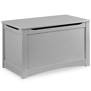 Delta Children Universal Toy Box, Gray, large