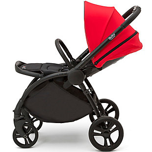 Delta Children Revolve Reversible Stroller, Black, large