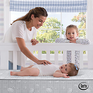 Serta  Perfect Balance 4-inch Mini Crib Mattress, , rollover
