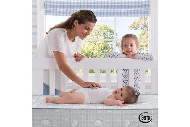 Serta Perfect Balance 3-inch Mini Crib Mattress, , large