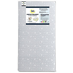 Serta  Perfect Balance 3-inch Mini Crib Mattress, , large