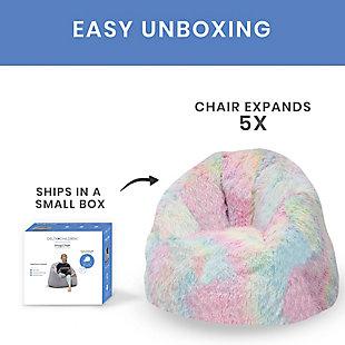 Delta Children Snuggle Foam Filled Chair, Toddler Size, , large