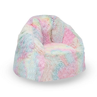 Delta Children Snuggle Foam Filled Chair, Tween Size, Tie Dye, , large