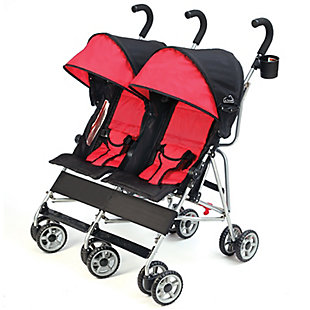 Kolcraft Cloud Side by Side Umbrella Stroller, , rollover