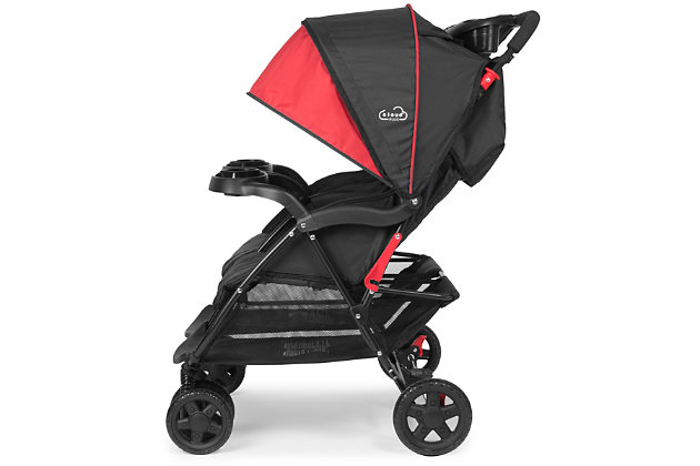 Kolcraft Cloud Plus Double Stroller, , large