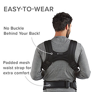 Kolcraft Contours Love 3-in-1 Baby Carrier, Black, large