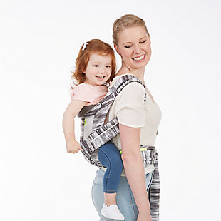 Kolcraft Contours Cocoon Hybrid Buckle Tie 5-in-1 Baby Carrier, Gray/White, large