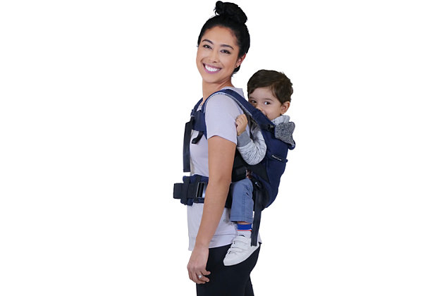 Kolcraft Contours Journey GO 5-in-1 Baby Carrier, Navy Blue, large