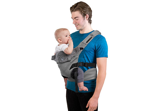 Kolcraft Contours Journey GO 5-in-1 Baby Carrier, Light Gray, large