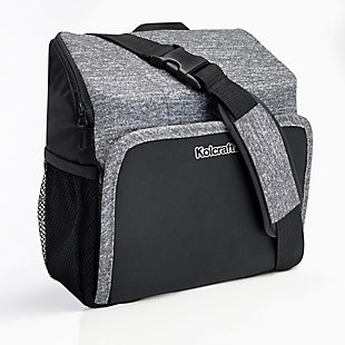 Kolcraft Travel Duo 2-in-1 Portable Booster Seat and Diaper Bag, , large