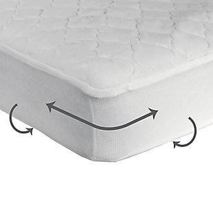 Kolcraft Sealy Waterproof Crib Mattress Pads, 2-Pack Value, , rollover