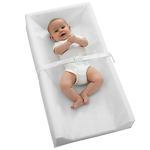 Kolcraft Sealy Soybean Comfort 3-Sided Contoured Changing Pad, , rollover
