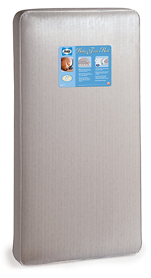 Kolcraft Sealy Baby Firm Rest Antibacterial Crib Mattress and Toddler Mattress, , rollover