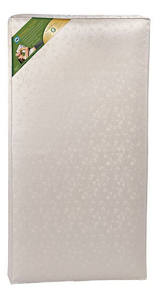 Kolcraft Sealy Soybean Plush Foam Core Crib Mattress and Toddler Mattress, , large