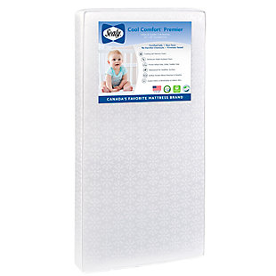 Kolcraft Sealy Cool Comfort Premier 2-Stage Crib Mattress and Toddler Mattress, , large