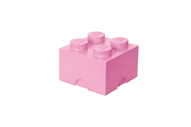 Lego ®  Storage Brick 4 - Light Purple, Light Purple, large