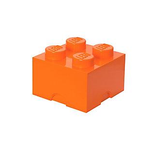 Lego ®  Storage Brick 4 - Orange, Orange, large