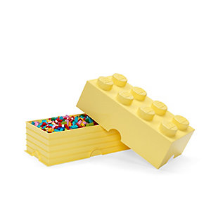 Lego ®  Storage Brick 8 - Cool Yellow, Yellow, large