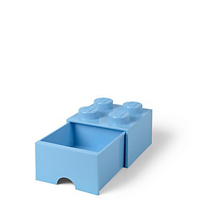 Lego ®  Brick Drawer 4 - Light Blue, Light Blue, rollover