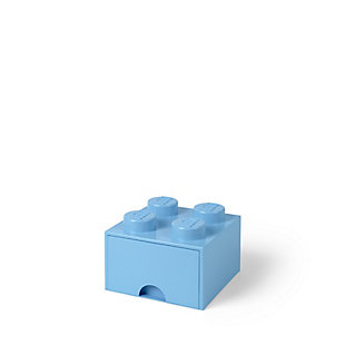Lego ®  Brick Drawer 4 - Light Blue, Light Blue, large