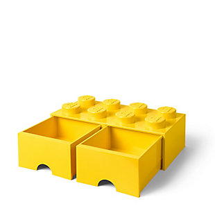 Lego ®  Brick Drawer 8 - Yellow, Yellow, rollover
