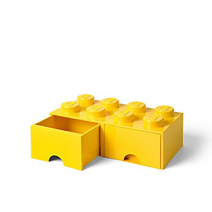 Lego ®  Brick Drawer 8 - Yellow, Yellow, large