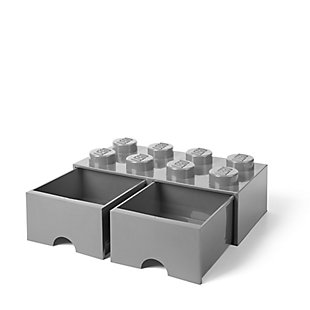 Lego ®  Brick Drawer 8 - Gray, Gray, rollover