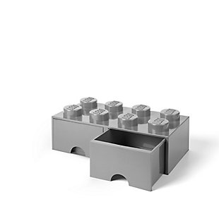 Lego ®  Brick Drawer 8 - Gray, Gray, large