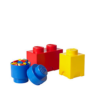 Lego ®  Storage Brick Multi-Pack 3 Piece Classic, , large