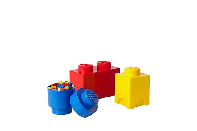 Lego ®  Storage Brick Multi-Pack 3 Piece Classic, , large