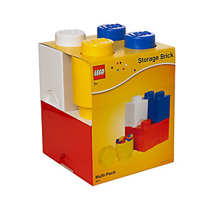Lego ®  Storage Brick Multi-Pack 4 Piece Classic, , rollover