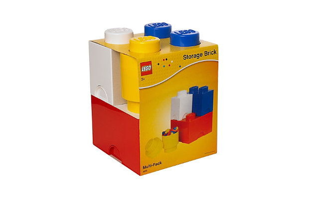 Lego ®  Storage Brick Multi-Pack 4 Piece Classic, , large