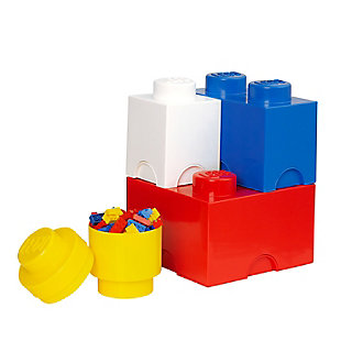 Lego ®  Storage Brick Multi-Pack 4 Piece Classic, , large