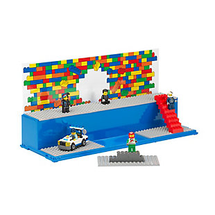 Lego ®  Play and  Display Case Iconic - Blue, , rollover