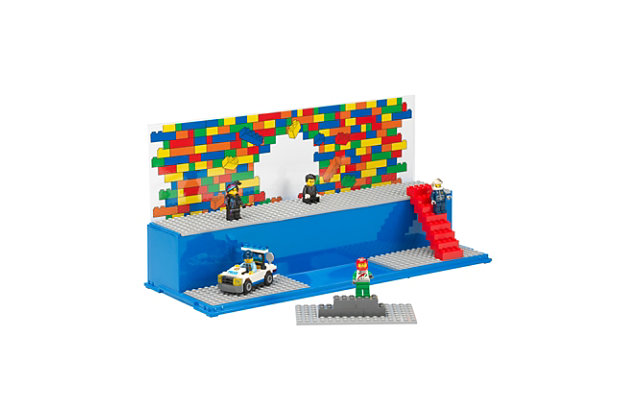 Lego ®  Play and  Display Case Iconic - Blue, , large
