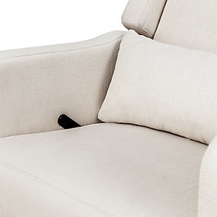 Carter's by Davinci Arlo Recliner and Swivel Glider, White, large