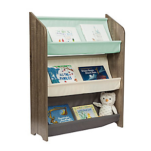 Honey-Can-Do Kids Collection 3-Tier Book Rack, , large