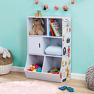 Honey-Can-Do 6-Cube Kids Storage Cubby, , rollover