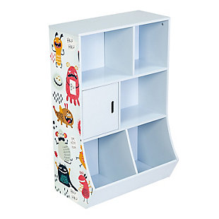 Honey-Can-Do 6-Cube Kids Storage Cubby, , large